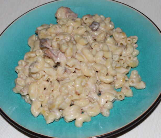 Tuna-Macaroni Casserole