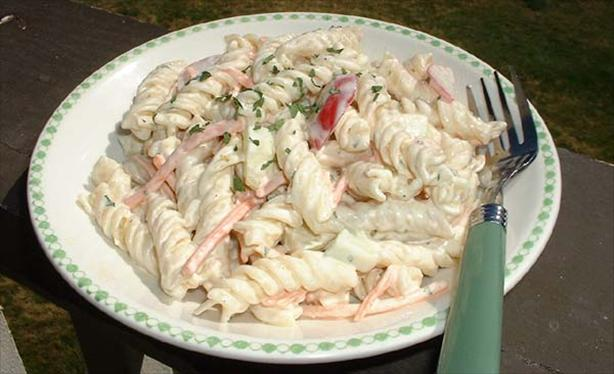 Melt in Your Mouth Macaroni Salad