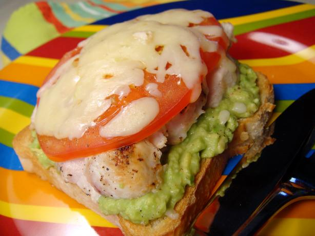 Avocado and Chicken Melts