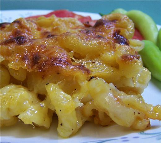 Crusty Macaroni and Cheese