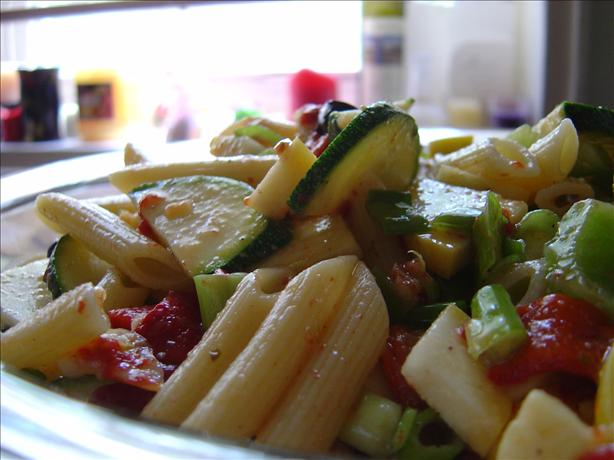 Mostaccioli Vegetable Salad
