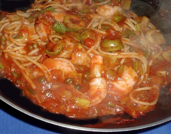 Mediterranean Shrimp Toss