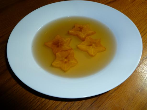 Broiled Star Fruit in Ginger