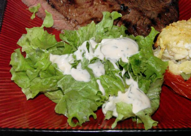 Ranch-Style Salad Dressing