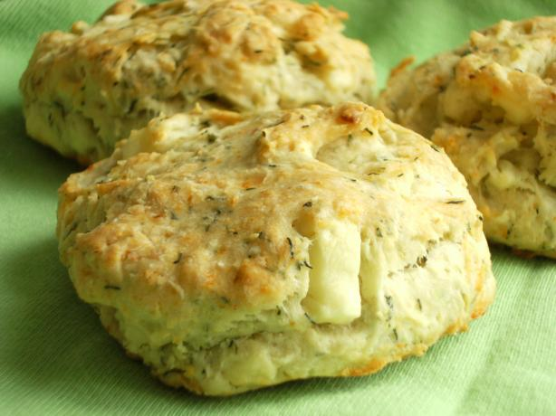 Feta Dill Biscuits