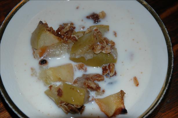 Easy Apple-Oatmeal Crisp