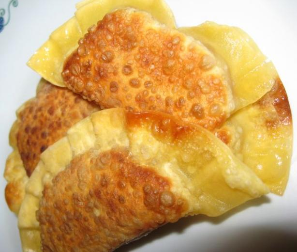 Banana Gyoza Dessert