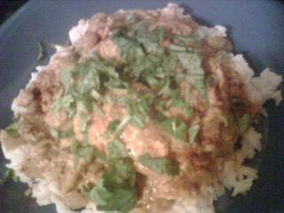 Coconut Curried Tilapia