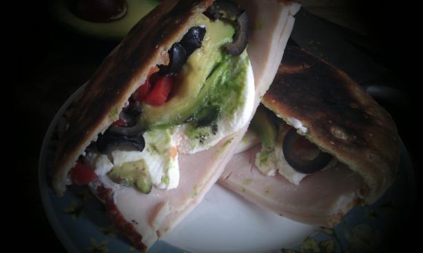 Tex-Mex Club Sandwich