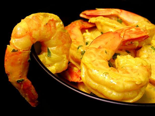 Shrimp in Coconut Gravy