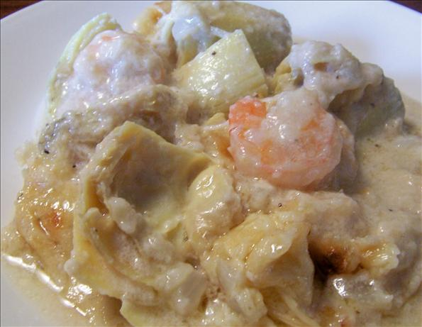 Shrimp and Artichoke Casserole