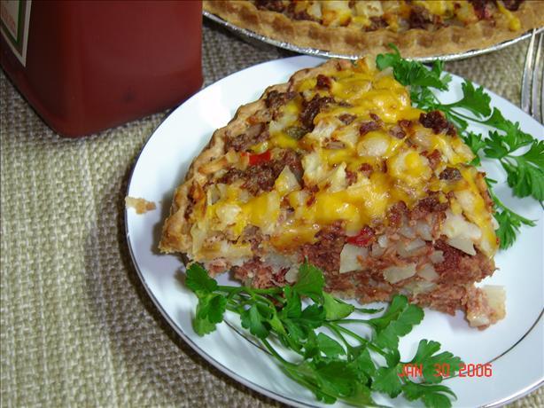 Corned Beef Hash Pie