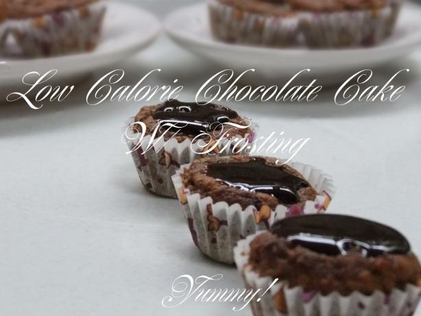 Low Calorie Chocolate Cake W/ Frosting