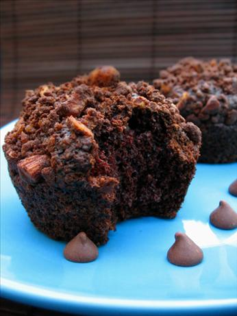 Cocoa Applesauce Muffins