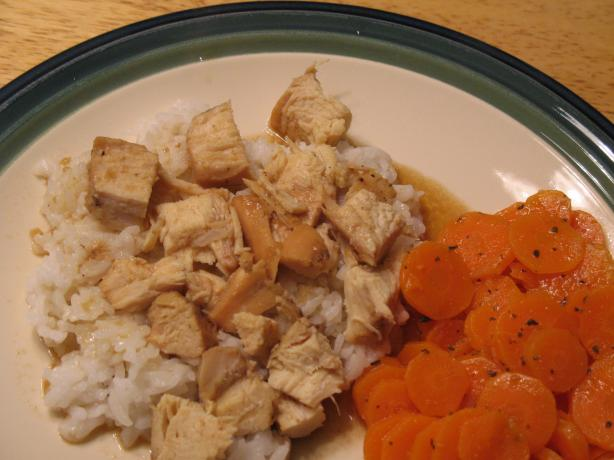 Sweet Aromatic Chicken With Rice (Crock Pot)