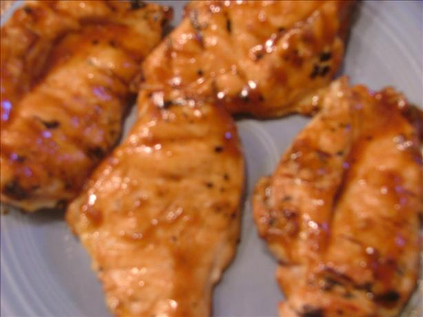Barbecued Teriyaki Chicken