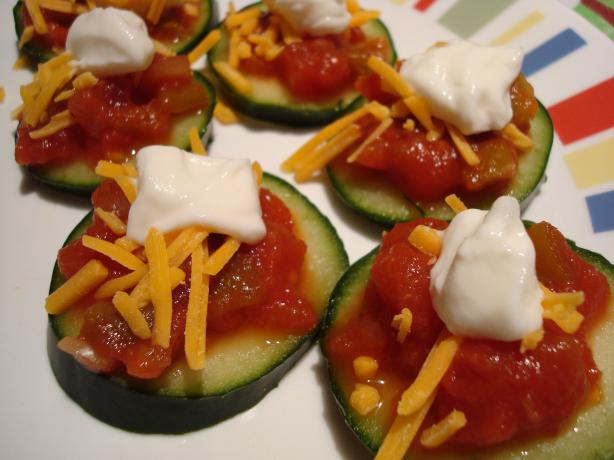 Cucumber Nachos