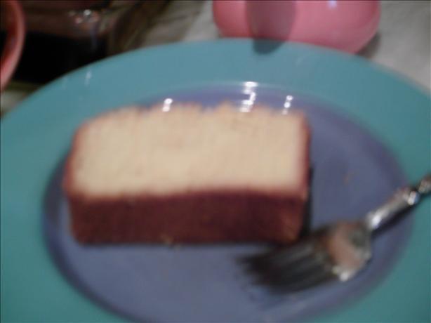 Orange Cornmeal Pound Cake