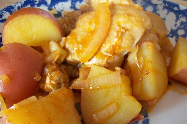 Paprika Chicken One-Pot