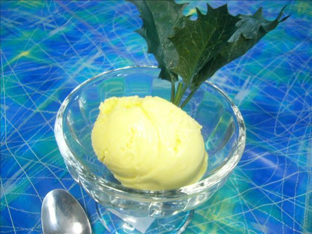 Luscious Silky Mango Gelato