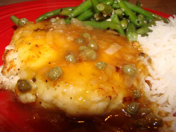 Chicken Piccata Low Fat