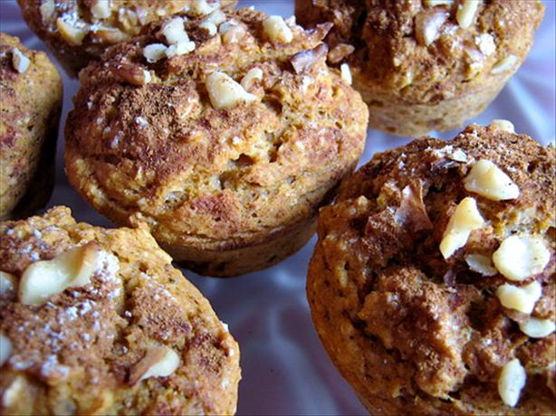 Sweet Potato Oatmeal Muffins