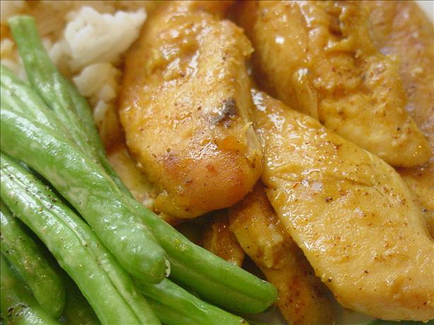 Chicken Bombay (Lighter)