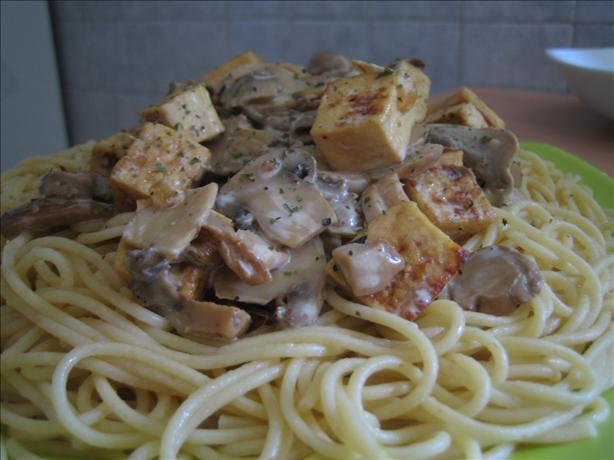 Mushroom Tofu Stroganoff