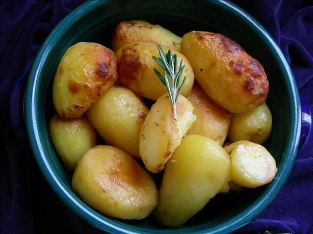 Browned Potatoes With Roast