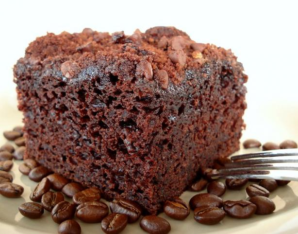 Mocha Coffee Cake - Light