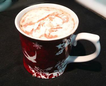 Raspberry Truffle Latte