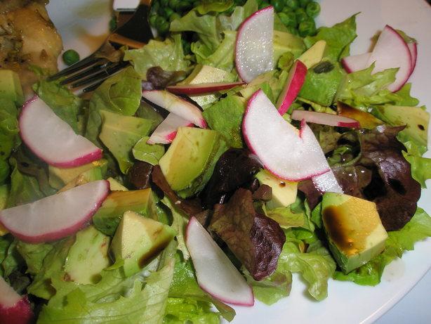 Avocado Radish Salad