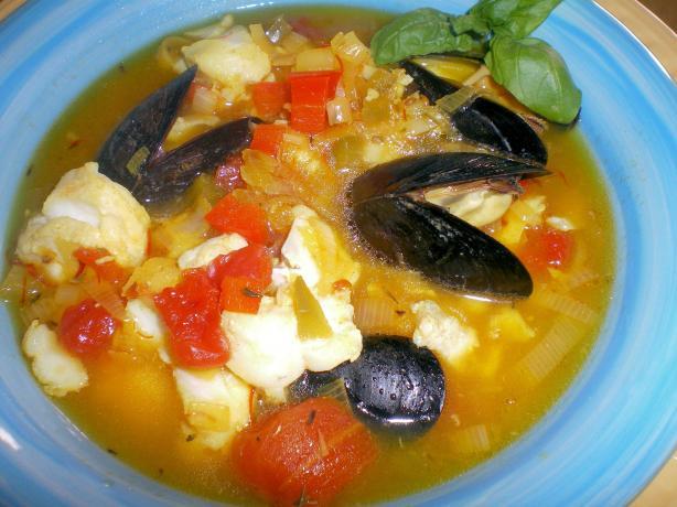 Fish Soup Provencale