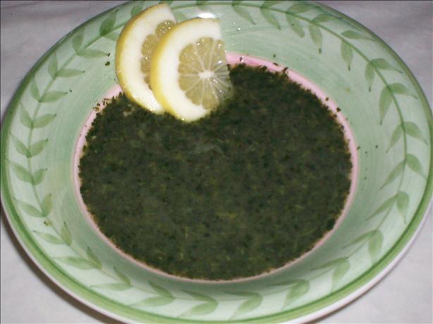 Molukhia - Jews Mallow Soup