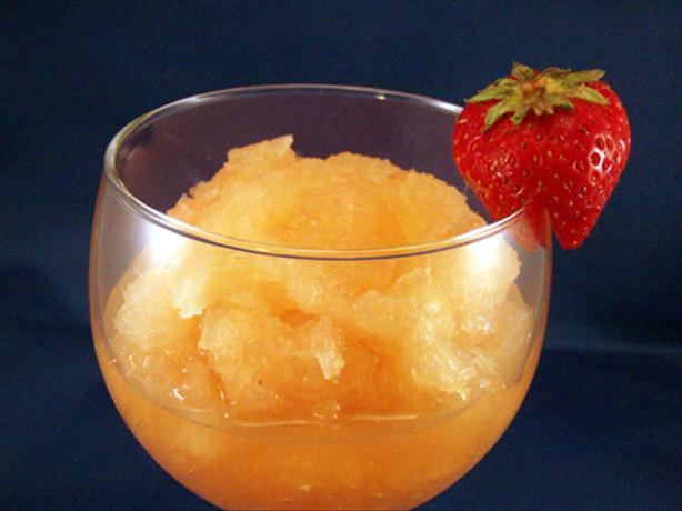 Get Gorgeous Grapefruit Granita