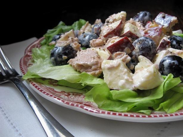 Tuna Grape Salad