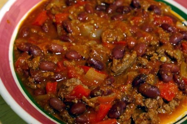 Veggieful Oven-Baked Chili