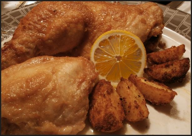 Chicken in Honey-Lemon Sauce