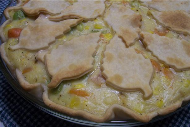 Holiday Leftovers Pot Pie