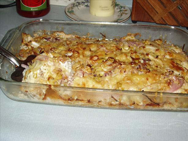 Three Onion Casserole