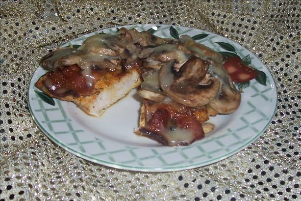 Bacon Mushroom Chicken for 2