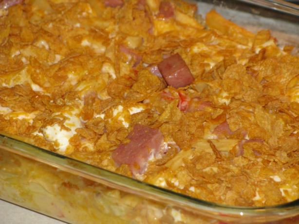 French Fry Spam Casserole
