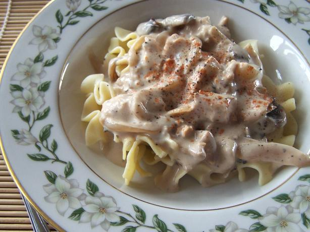 Turkey Marsala- Using Leftovers