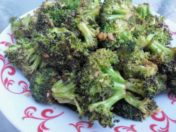 Roast Teriyaki Broccoli