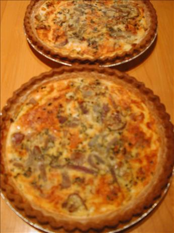 Onion Cheddar Quiche