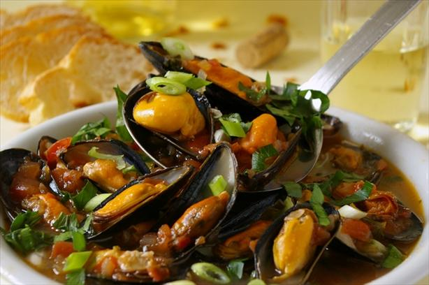 Beach House Mussels