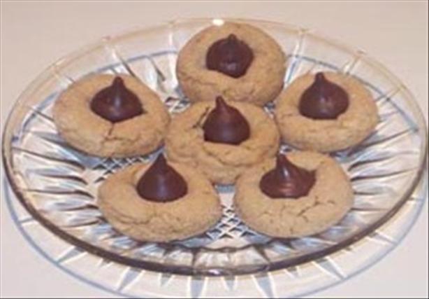 Patti's Peanut Blossom Cookies