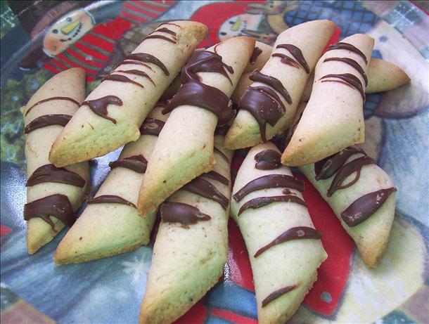 Nutmeg Log Cookies
