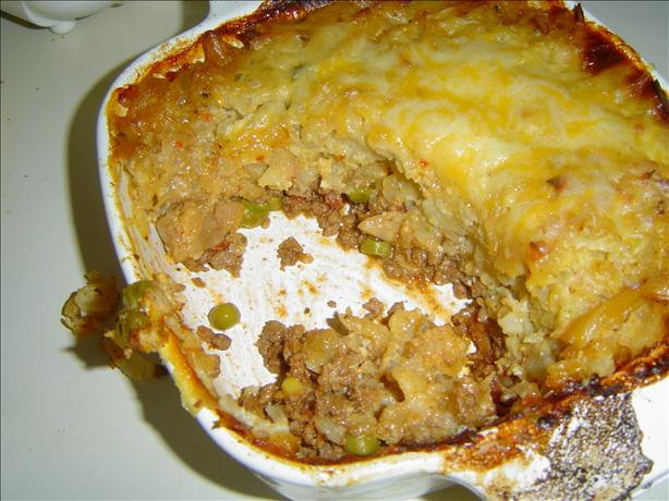 Texas Style Hash Browns Shepherd's Pie