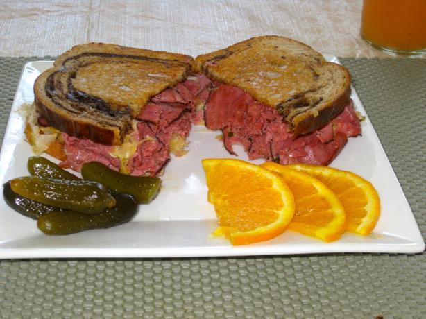 The Shawnee Marina Reuben Sandwich